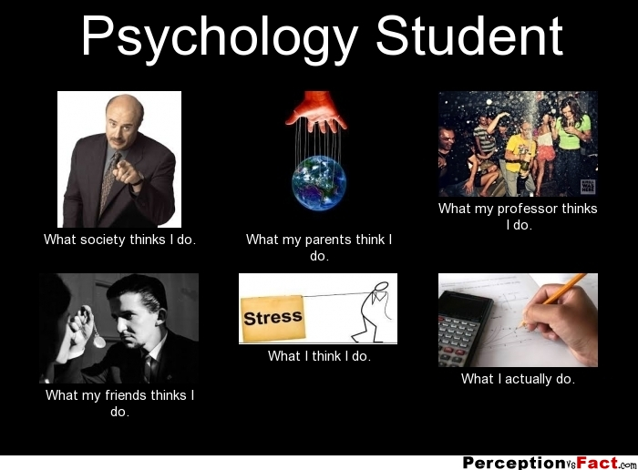 Psychology Student... - What people think I do, what I ...