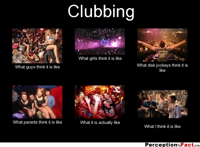 Clubbing - What People Think I Do, What I Really Do -4892