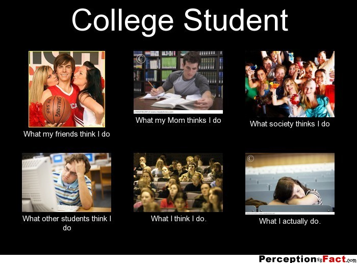 a life in senor high and college The differences between college and high school are many — and important find a list of 50 differences between the two  for the rest of your life,.