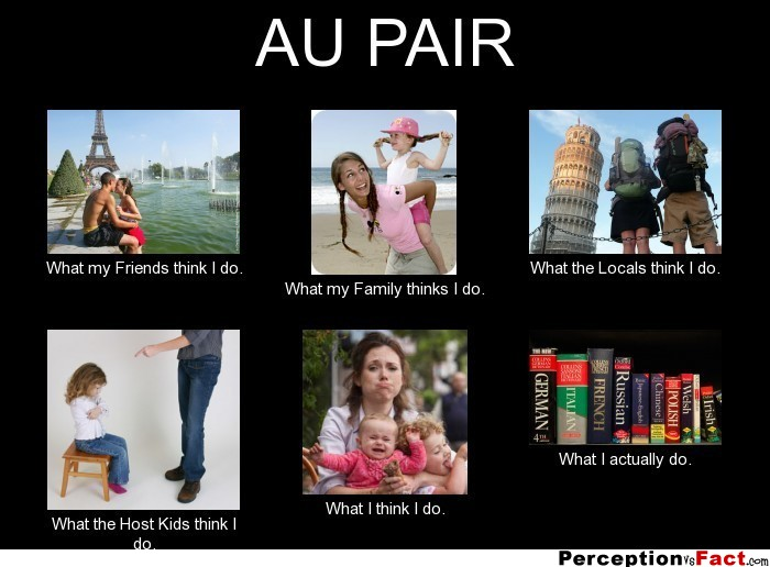 au pair   what people think i do what i really do