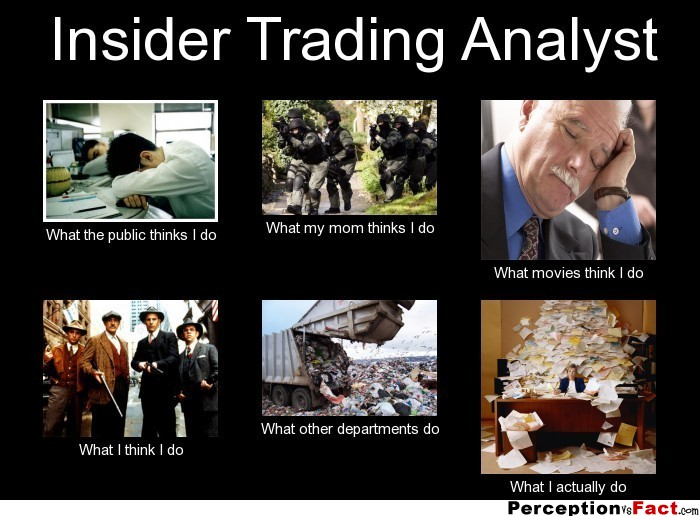 Insider trading analyst what people think i do what for What do publicists do