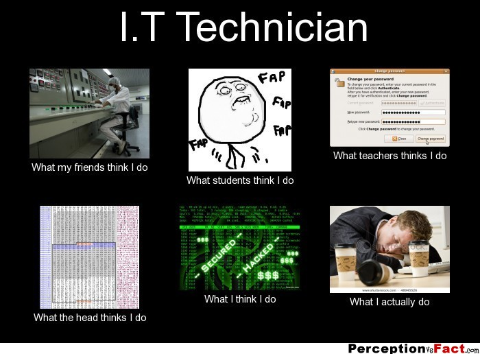 What does an it technician do?