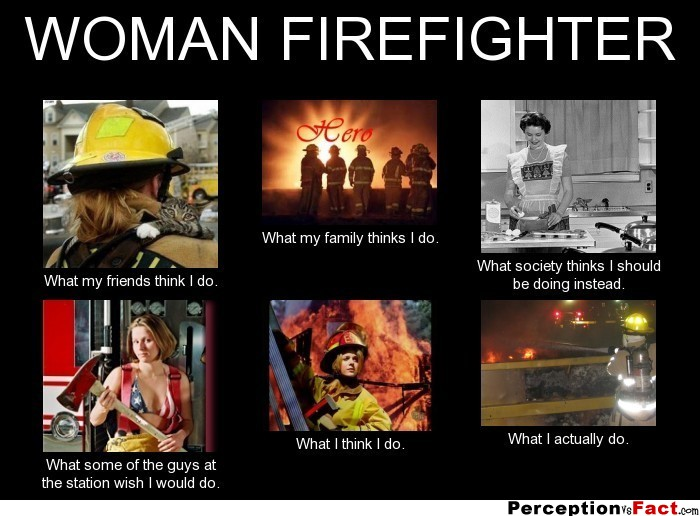 Women Firefighters Quotes   #traffic club