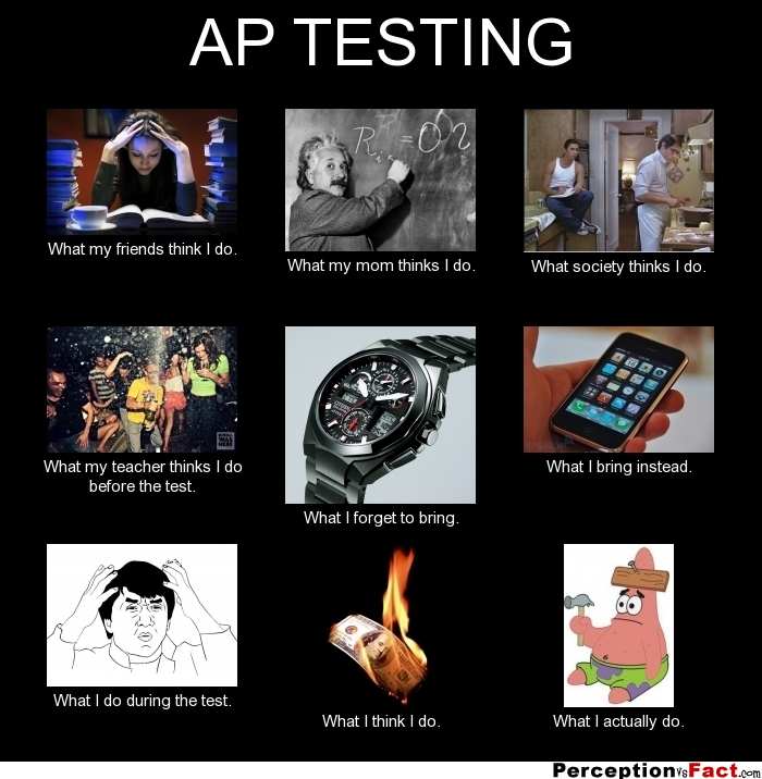 Ap Testing What People Think I Do What I Really Do