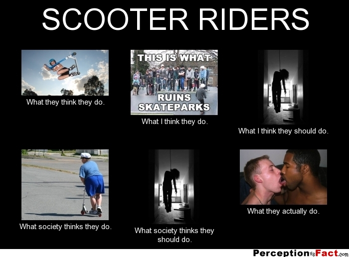 Scooter Rider Memes