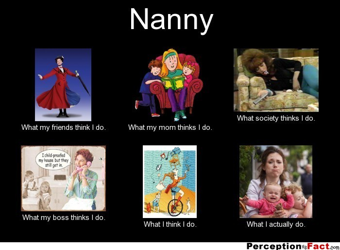 Nanny What People Think I Do What I Really Do