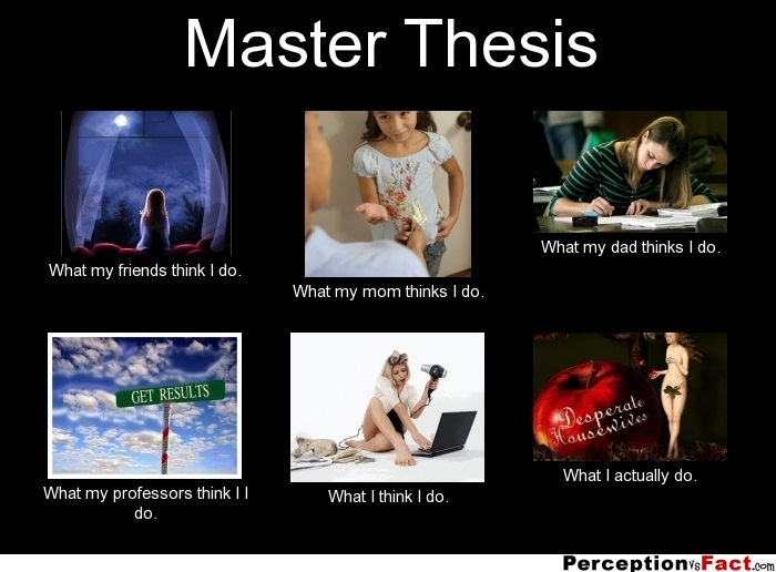 master thesis cartoon The moral: its not the contents of your thesis that is important , has some hysterical cartoons primarily lesson 19: grad school - some people never learn.