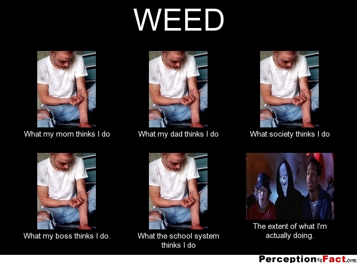 WEED... - What people think I do, what I really do ...