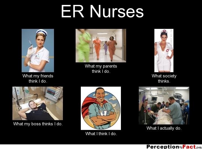 Er Nurse Meme Funny : Er nurses what people think i do really