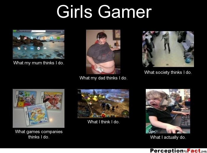 Gaming Girls Quotes Quotesgram