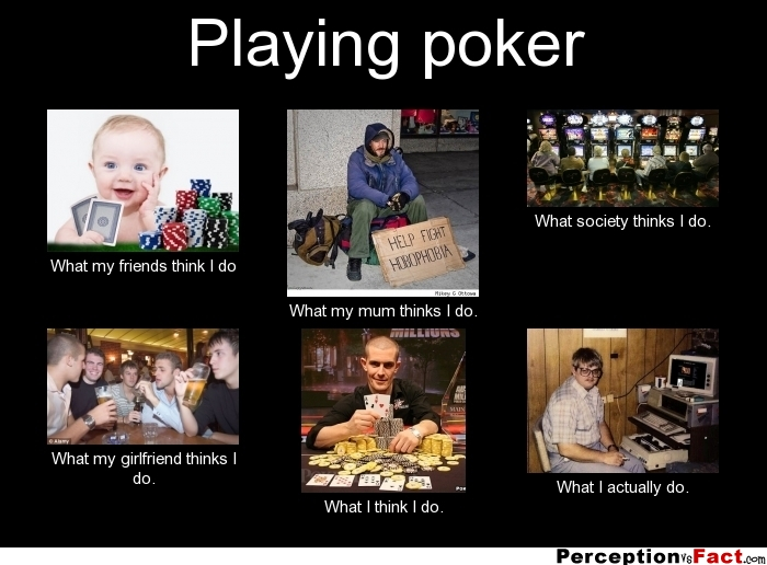 playing online poker with friends