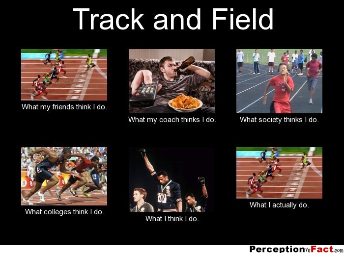 Track and Field Memes