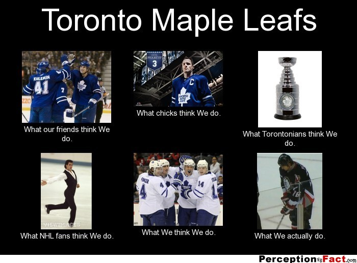 ... We do. What NHL fans think We do. What We think We do. What We