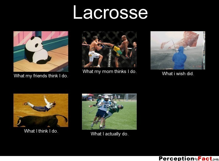 Lacrosse What People Think I Do What I Really Do