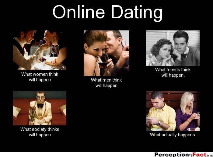 What happen when your dating a girl online