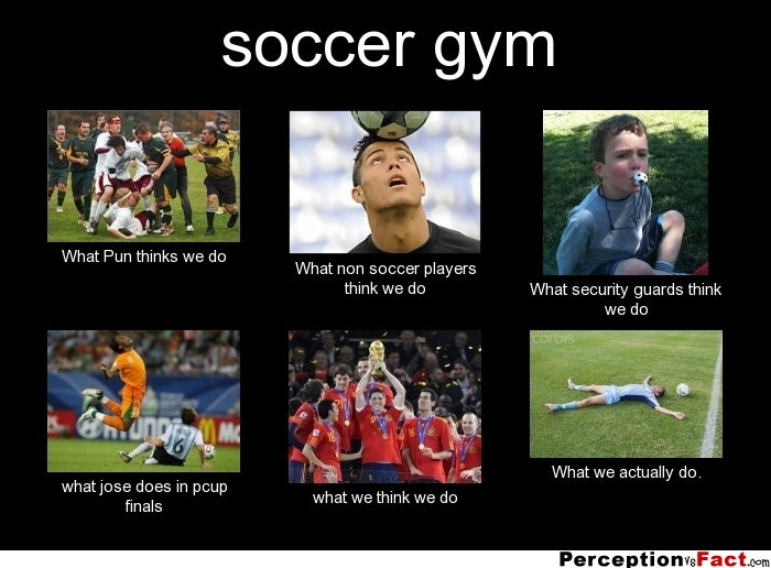 soccer gym ... - What people think I do, what I really do ... Soccer Ct