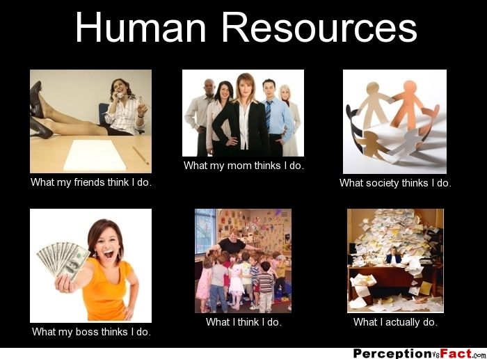 Human Resources What I Think I Do Meme