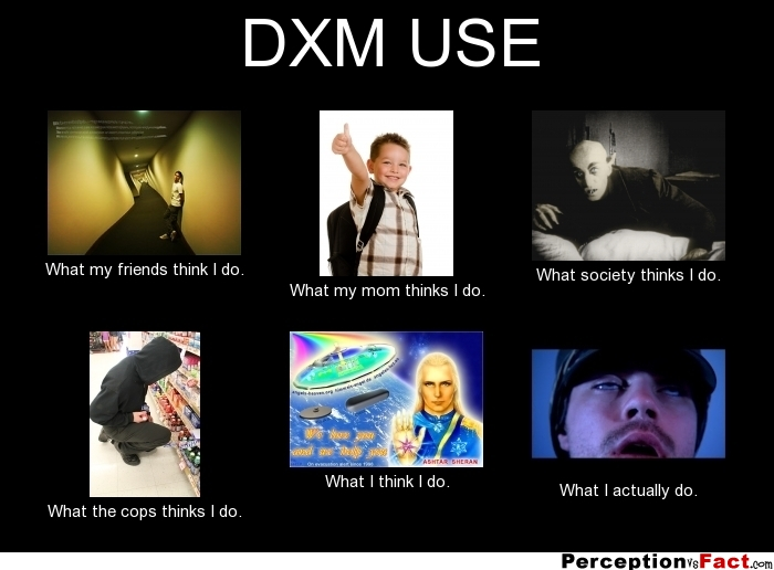 Dxm Use What People Think I Do What I Really Do