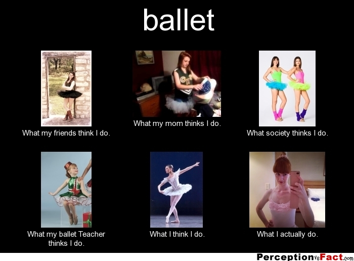 Ballet What People Think I Do What I Really Do