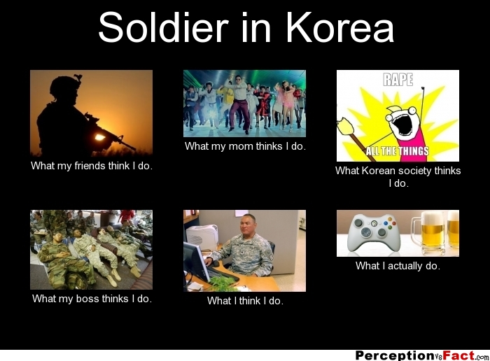 Soldier in korea what people think i do what i for What do publicists do