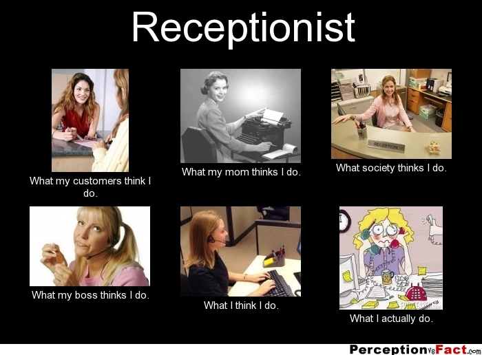 Funny Memes For Receptionist : Funny quotes from receptionist quotesgram