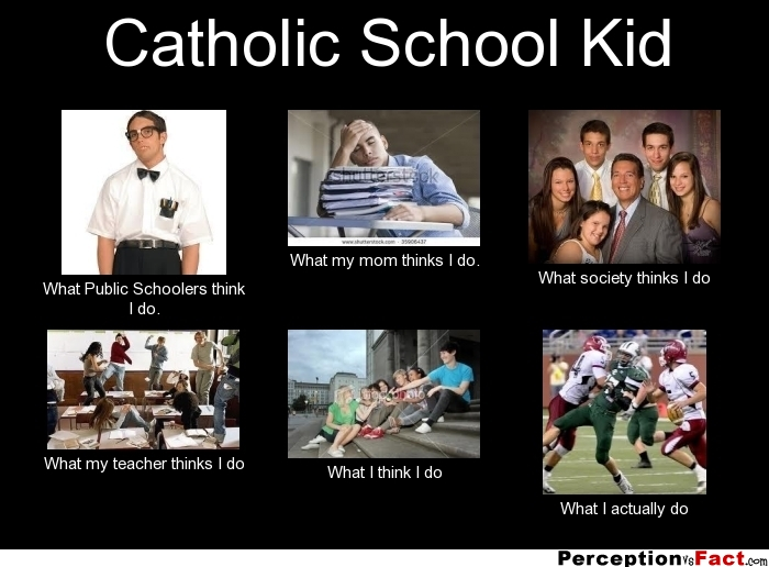 Catholic school kid what people think i do what i for What do publicists do